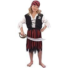 Disfraz de niña de Piratas del Caribe. 3 - 5 años
