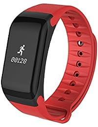 WMWMY Tensiómetro Inteligente para la Mujer Hombre de Monitor de Ritmo Cardíaco Reloj Inteligente Android iOS