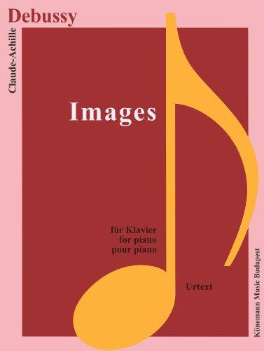Partition - Debussy - Images - pour piano
