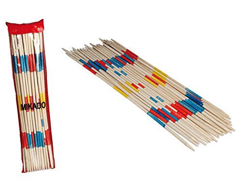 Out of the Blue 76/6148 Jumbo de Madera de Mikado, Aprox. 50 cm, 24 Sticks