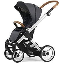 Mutsy Evo Urban Nomad Stroller, Silver Chassis, Dark Grey by Mutsy