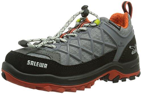 SALEWA JR WILDFIRE Unisex-Kinder Outdoor Fitnessschuhe Grau (Smoke/Grenatine 678)