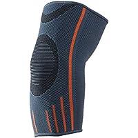 VORCOOL Codo Soporte elástico para Montar Tenis Baloncesto béisbol fútbol fútbol Deportes de elevación (S Gris)