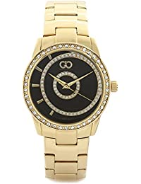 Gio Collection Analog Black Dial Women's Watch - G0057-33