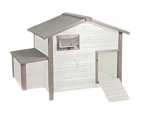 DUVO + Woodland Stile Cottage pollaio con Vassoio di Ponte