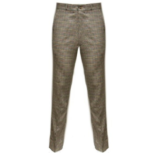 Relco Sta-Press-Hose - Tweed - eng - Mod-Stil - kariert - US 36