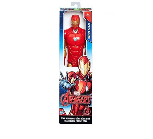 Avengers Marvel Figura Titan Iron Man (Hasbro C0756ES0) 1
