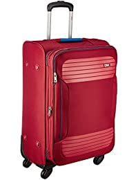VIP Zane Polyester 67 cms Ruby Red Softsided Check-in Luggage (STZANW69RRD)