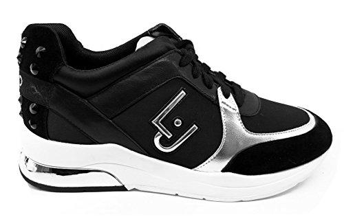 LIU JO Sneakers B18021T2039 22222 Donna Running Miranda Con Logo Zeppa 50 bfd25eca6cc