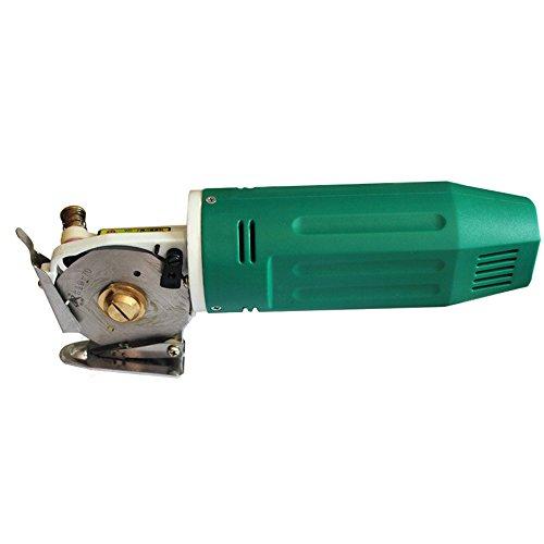 topqsc Klinge Tragbare Runde Miniatur-Circular Elektrische Stoff Cutter Messer schneiden Maschine elektrische Schere