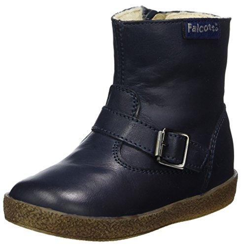 falcotto lauflernschuhe Falcotto Unisex Baby 1213 Klassische Stiefel, (Blau), 25 EU