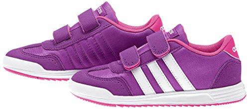 adidas - Vs Dino Cmf C, Scarpe sportive Unisex – Bimbi 0-24 Multicolore (Blanco / Rosa (Rosdes / Ftwbla / Rosimp))