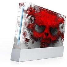 Nintendo Wii Skin Design Aufkleber Master Kit für alle Seiten - War Light