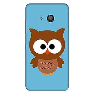 "Bhishoom Designer Printed Hard Back Case Cover for ""Microsoft Lumia 550"" - Premium Quality Ultra Slim & Tough Protective Mobile Phone Case & Cover"
