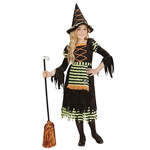 Jährige Für 5 Kostüm Hexe - Widmann 05526 - Kinderkostüm Hexe, Kleid und Hut, Größe 128