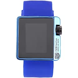 Leopard Shop TVG 4G08 Female Wristwatch Fashion LED Digital Multifunctional Sports Watch Calendar Water Resistance Blue