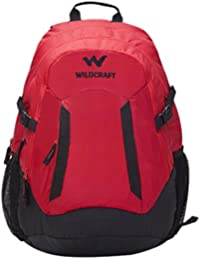 Wiki Daypack 34 liters Red Casual Backpack (8903338042303)