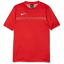 Nike Academy16 YTH SS Top Camiseta, Niños, Rojo/Blanco (University Gym Red