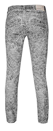 Coccara Damen Vintage Hose comfort fit braun CN175 - Foxy Grey