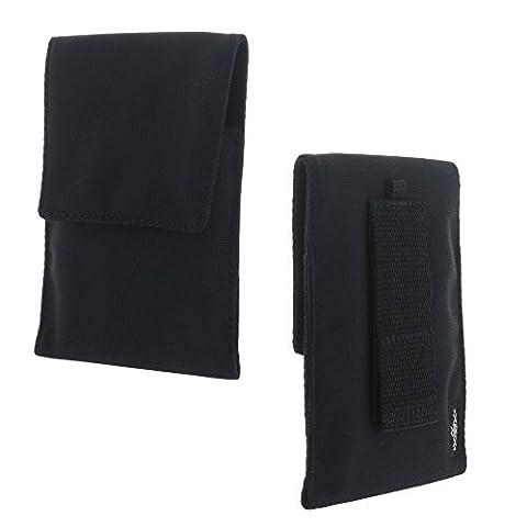 XiRRiX Handy Nylon Hülle Etui Tasche - Größe 2XL für z.B. CAT S30 S40 S60 - Huawei Mate 9 5X 6X - LG G6 - Samsung J7-2016 S8+ etc