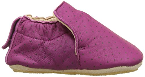 Easy Peasy Blublu Plumetis, Chaussons Bébé Fille Rose (Cassis/Or)