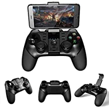 Microware Gamepad Ipega 9076/9077 Gamepad Bluetooth Game Controller With 2.4G Wireless Receiver Joystick Android IOS PC Game Console Player For PUBG