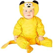 Disfraz de un gato naranja para bebé