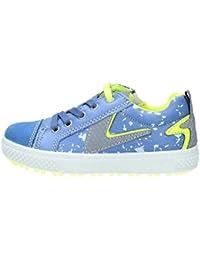 Primigi 72511 Sneaker Bambino Tessuto Canvas Blu bivelcro Flexible Anti Shock (27) ewYkE