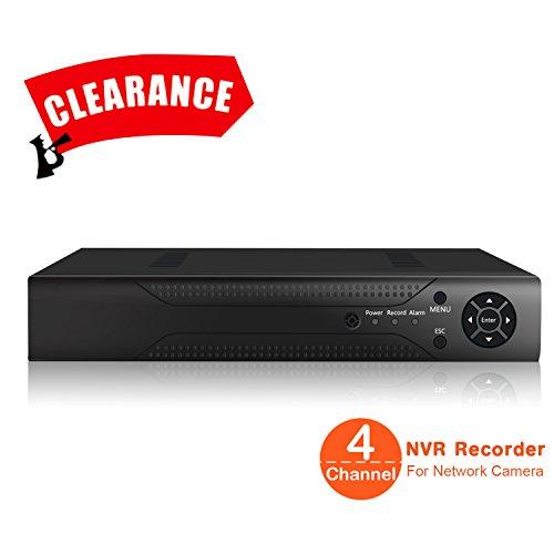 JOOAN 7214N 4CH H.264 ONVIF NVR Registratore HD Camera System 720P / 1080P Network Video Recorder CCTV di sorveglianza IP per la videocamera di sicurezza di