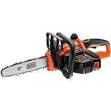 Black+Decker GKC1825L20-QW - Motosierra 18V 2Ah Litio 25cm