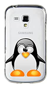 WOW Transparent Printed Back Cover Case For Samsung Galaxy Star Pro S7262