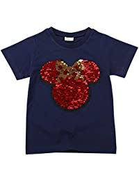 58dcae1ea Amazon.es  camisetas lentejuelas - Camisetas