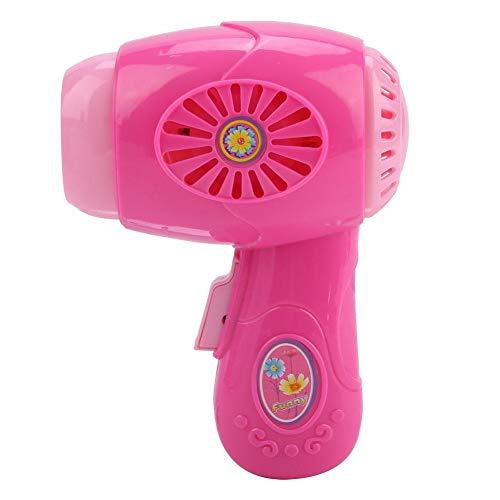 Zerodis Haar Trockner Spielzeug Batterie Kinder Tragbare Helle Farbe Schlag Trockner Kinder Rollenspiele Haar Trockner Spielzeug(Rosa) - Rosa Schlag-trockner