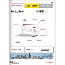 Das Telefonbuch und GelbeSeiten Deutschland Map&Route Herbst/Winter 2012/13