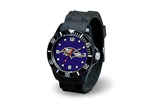 NFL Baltimore Ravens Spirit Watch, Black