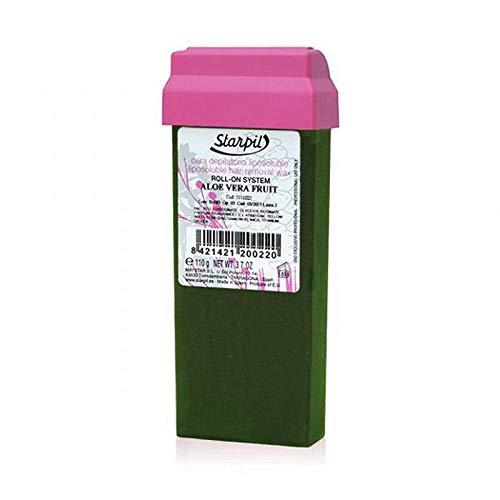 Aloe Vera-wachs (20 Stück Wachs ALOE VERA Wax Starpil Roll on Cartridges 110g - Pack of 20 cartridges ...)
