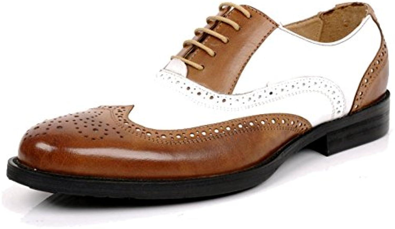 ZQZQ Zapatos De Cuero De Desgaste Formal De Negocios Coreanos Británicos para Hombres Zapatos De Cuero Versión... -