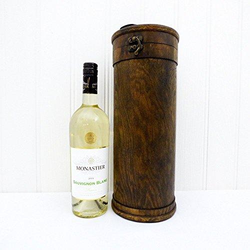 Portador de vino celta de lujo con Monastier el vino blanco - Regalo perfecto para el Día de la Madre