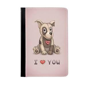 Chien Chien mignon Dog Telephone Cas Coquill pour iPad mini / mini 2