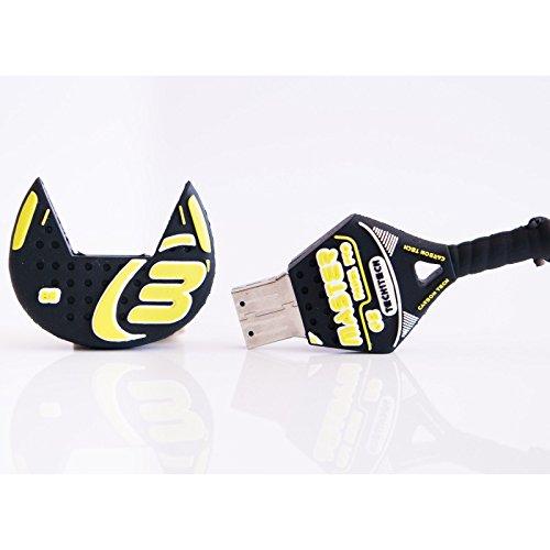 TECH1TECH TEC50461-16 16GB USB 2.0 Type-A Multi Unidad Flash USB - Memoria USB (USB 2.0, Type-A, Tapa, Multicolor, Metal, Caucho, Tubo)