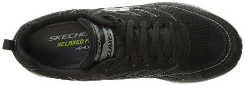 Skechers Skech-air Infinity, Scarpe da fitness Uomo Black Knit