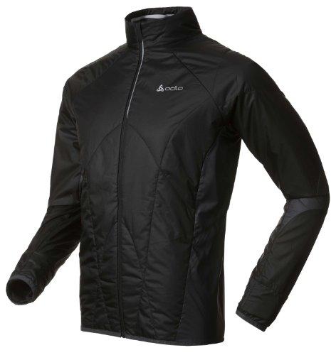 Odlo Herren Jacke Jacket Chamber black - ebony grey