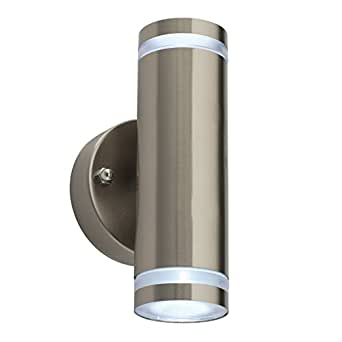 Saxby Aura 1w Brushed Stainless Steel Indoor Outdoor Ip44