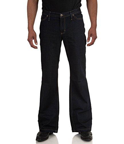 Jeans Bootcut Hose dunkelblau Star Cut Dark Denim Dunkelblau