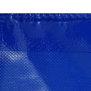 GONGFF Telo di Tela Cerata Telo da Camion in PVC di Oxford Telo per Piscina all'aperto Raschiamento del Coltello per Piscina (Colore: Blu, Dimensione: 3x3m)