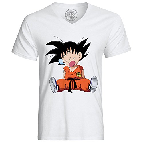 T-Shirt Dragon Ball DBZ Goku Tired Manga Anime