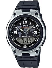 Casio AW-80-1A2VES - Reloj de pulsera hombre, Resina, color Negro
