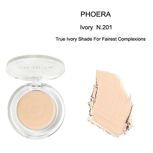 Gaddrt Foundation-Creme Neue PHOERA Gesicht Make-up Concealer Foundation Palette cremige feuchtigkeitsspendende Concealer (A)