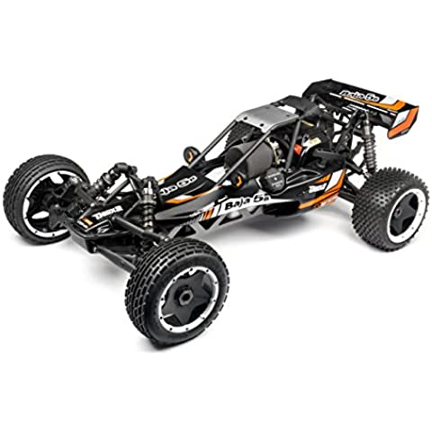 HPI Racing 113141 1:5 Motor de gasolina Buggy vehículo de tierra por radio control (RC) - vehículos de tierra por radio control (RC) (1:5, Listo para usar, Motor de gasolina, Buggy, 2-wheel drive (2WD), Negro,
