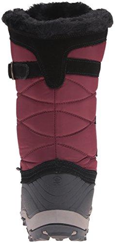 Kamik Snowvalley, Bottes et bottines à doublure chaude femme Rouge - Rot (BUR-BURGUNDY)